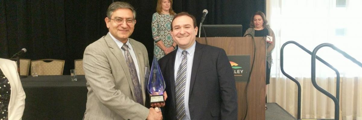 Delegate Reznik is recognized at MAADS annual conference