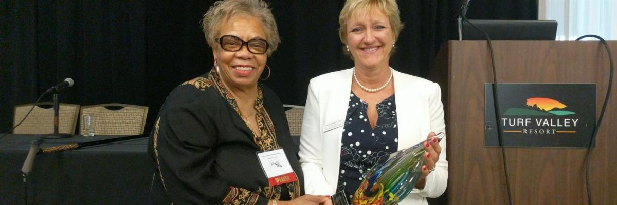 Senator Nathan-Pulliam receives MAADS award